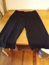 CROFT & BARROW BLACK CAPRI PANTS SZ 14 STRETCH dressy
