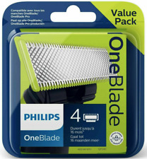 4 Lames Philips One Blade OneBlade Pro Recharge Qp240/50