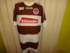 """FC St.Pauli Original reusch Heim Trikot 1995/96 """"Böklunder"""" Gr.XL/XXL"""