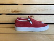 Common Projects Shoes Red Sneaker Mens Made in Italy Sz. 40 US 7 UK 6