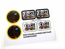 HE-MAN Masters of the Universe SYCLONE + FAKER Stickers HIGH RESOLUTION!