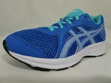 ASICS Jolt 2 GS Running Shoes Size 4 Youth Girls Blue Coast White 1014A035-403