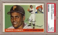 1955 TOPPS ROBERTO CLEMENTE RC #164 PSA 7 (OC)!!