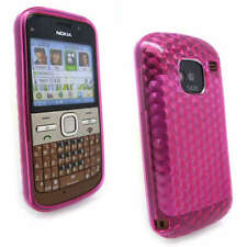 D Pink Jelly Case Cover Gel Skin for Nokia E5-00 E5 +SP
