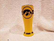 Beautiful Iowa Hawkeyes 4 1/2 Inch Ceramic Glass Tumbler, Mint!