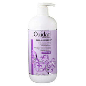 Ouidad Curl Immersion No-Lather Coconut Cream Cleansing Conditioner 473ml