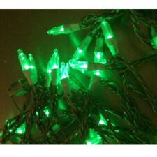 Guirnalda de Luces Verde Color Claro 5m 50er Cadena para Árbol Navidad