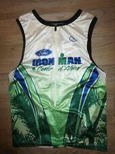 ironman coeur d'alene Triathlon Running Cycling Sugoi Jersey LG L