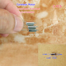5PCS DC 3V 70000RPM Coreless Motor High Speed Micro Mini Toy Motors DIY 4mm*8mm