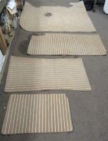Set of 4 Sea Ray Boat Pole Cover Cap 1702182Black 7//8 Inch Rubber