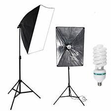 New Photography Photo Softbox Studio Continuous Video stand Lighting Light Kit