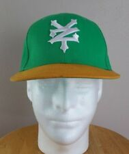 Zoo York ZY Green & Yellow Snap Back Flat Bill Hat One Size