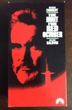 The Hunt for Red October VHS 1990 Sean Connery Alec Baldwin VHSshop.com