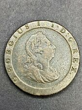 1797 UK GREAT BRITAIN GEORGE III CARTWHEEL PENNY VF