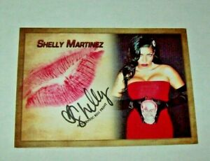2019 Collectors Expo BW Model Shelly Martinez Autographed Kiss  Card 2