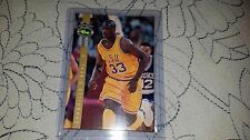 1992 Classic Shaquille O'Neal Basketball Rookie Card Four Sport #LP8 Lakers LSU
