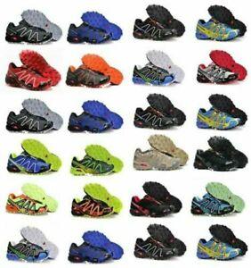 Salomon Speedcross 3 Herren Outdoorschuhe Laufschuhe Cross Schuhe Hikingschuhe ~