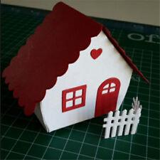 Beautiful Customized House Cutting Dies DIY Scrapbooking Photo Album Card  Rx