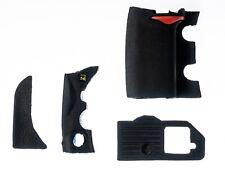 Rubber Body 4 Piece Set Cover Shell Grip Unit For Nikon D700 3M Tape & Glue