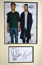 RIZZLE KICKS - CHART TOPPING BAND - SUPERB FULLY SIGNED COLOUR DISPLAY