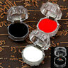 10pcs Jewelry Box Clear Acrylic Crystal Ring Earrings Boxes Organizer Case