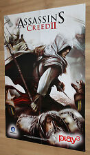 Assassin's Creed II 2 rare double sided Poster 80x56cm PS3 Xbox 360 PS4