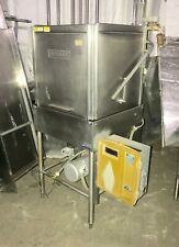 Hobart Commercial High Temp Dishwasher With Upper And Lower Wash Arms
