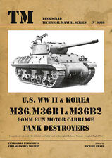 TANKOGRAD TECHNICAL MANUAL 6036 U.S. WWII & KOREA M36, M36B1 & M36B2 90MM GUN MO