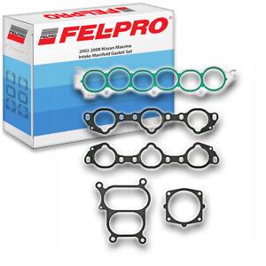 Fel-Pro Engine Intake Manifold Gasket Set for 2002-2008 Nissan Maxima 3.5L xu