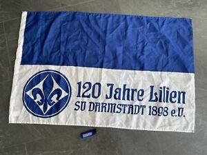 Hissflagge Fahne SV Darmstadt 98 90 x 150 cm Flagge Feuerzeug Südkurve SVD neu