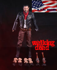 1/6 Negan Action Figure Full Set with Lucille The Walking Dead ❶USA IN STOCK❶
