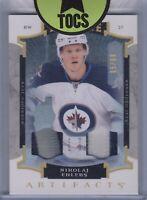 Nikolaj Ehlers 2015-16 Artifacts Rookie Dual Patch 05/99 Winnipeg Jets