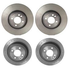 For Mini R50 R52 R53 Pair Set of 2 Front Brake Disc Rotors Vented Coat Brembo
