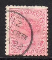 New Zealand 1 Penny Stamp c1882-00 Used (6771)