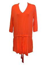 NEW Michael Stars Orange Jersey Tunic One Size