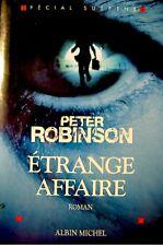 PETER ROBINSON etrange affaire 2006 ALBIN MICHEL EX++