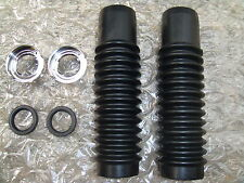 HONDA CT90 S90 BRAND NEW FRONT FORK BOOTS Rubbers Gaiters REBUILD KIT