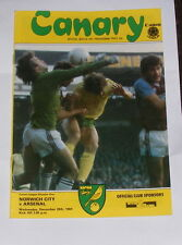 Norwich City -v- Arsenal 1984-1985