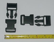 25 mm correa para equipaje Delrin Hebilla Clip De Negro Bum Bag Mochila Snap Clip 2 for £ 1