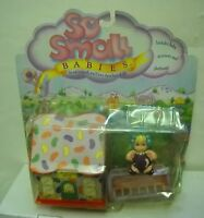 #2739 NRFC Vintage Galoob So Small Babies Jelly Bean Drive with Doll Playset