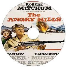 The Angry Hills - War, Spy, Drama - Robert Mitcham, Stanley Baker - 1959