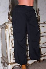 NIKE dri-fit ladies  black elasticated 3/4 trousers/tracksuit bottoms size S