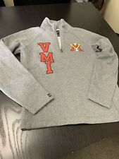 VMI Woman's 1/4 Zip Sweatshirt - Unworn - SZ Medium. Virginia Military Institute