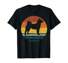 Norwegian buhund Vintage Retro Dog Mom Dad Gift T-Shirt