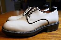Kenneth Cole New York Men's Size US 10 EU 43 Made in Italy Leather DERBY Shoe