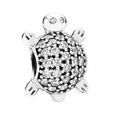 Authentic Pandora Charms Bead Sea Turtle 791538CZ