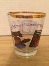 Souvenir Glass, 1986 Liberty Bowl Football Game, 28th Anniversary Game