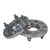 2PCS 15mm 5Lug Hub Wheel Spacers For AUDI A4 S4 RS4 B7 5X100/5X112 14X1.5
