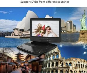 HD Juntunkor Portable DVD Player 12.5 inches