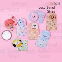 Official BTS BT21 Baby Hand Mirror and Pouch Set + Freebie+ Free Tracking KPOP